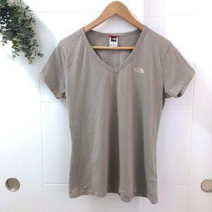 The North Face • Large Logo V Neck T Shirt